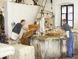 Ruční papírna  Velké Losiny -výroba  papíru